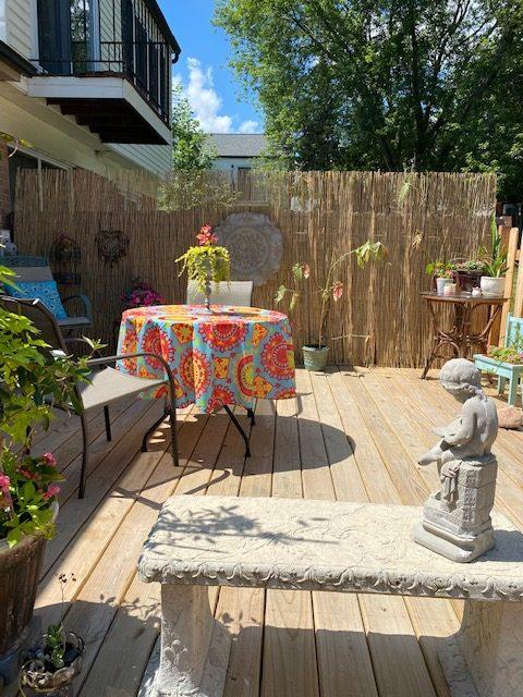 Condo Backyard