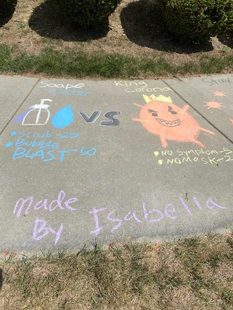 2020 Sidewalk Chalk Event
